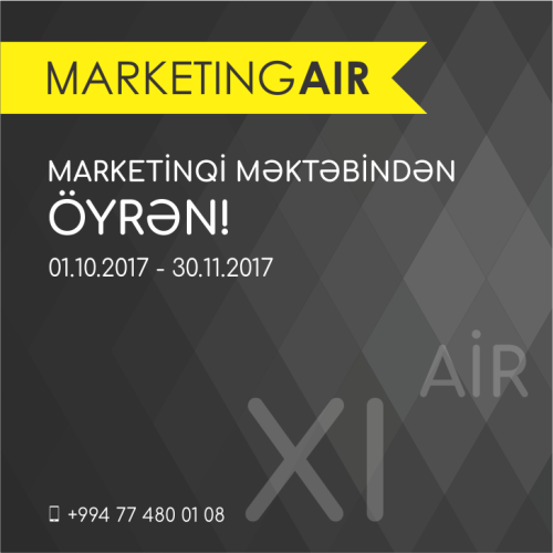 Marketing AİR 11-ci dəfə